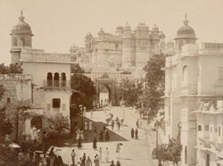 Palace and the Baripol Gate, Udaipur